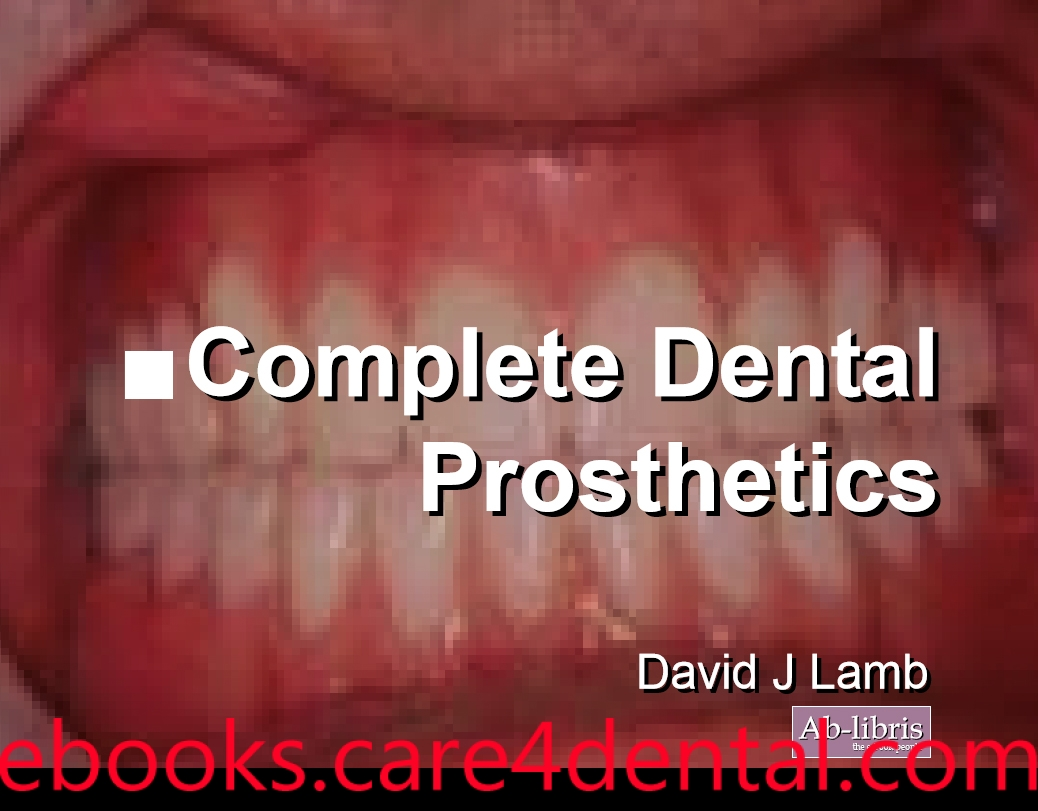Textbook of complete denture prosthodontics by sarandha pdf writer