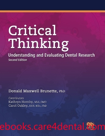 critical thinking understanding and evaluating dental research After appropriate revisions, the questions were sent by email to participants to elicit their understanding of what critical thinking is, and the strategies or methods used to teach students to think critically the researchers choose this approach because it allowed time for participants to reflect upon the questions and craft their.