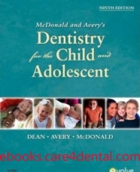 McDonald and Avery Dentistry for the Child and Adolescent, 9th Edition (pdf)