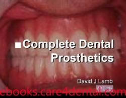 Complete Dental Prosthetics (pdf)