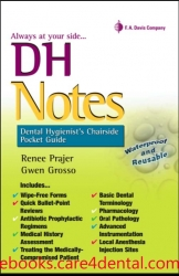 DH Notes: Dental Hygienist's Chairside Pocket Guide (pdf)