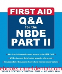 First Aid Q&A for the NBDE Part II (pdf)
