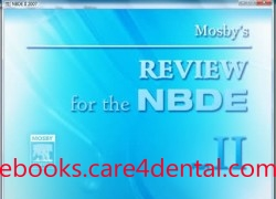 Mosby's Review for the NBDE, Part II, CD ROM (pdf)