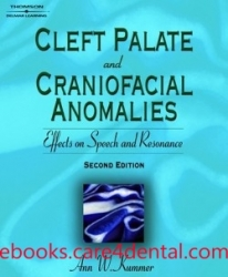Cleft Palate & Craniofacial Anomalies: Effects on Speech and Resonance (pdf)