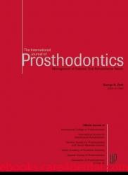The International Journal of Prosthodontics 1998-2013 Full Issues